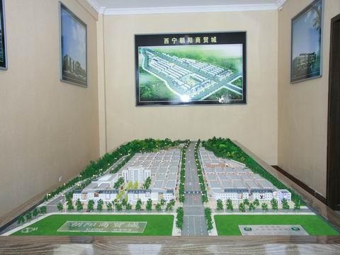 """青海省西宁市""""朝阳国际建材商城""""华丽亮相"""