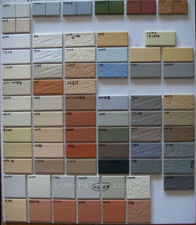 户加工各类规格外墙砖
