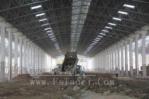 嘉俊陶瓷恩平生产基地二期工程建设预计在今年7月份完工