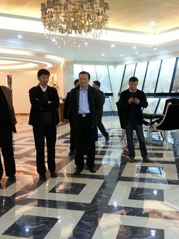 江西新中源再次迎来省公安厅贵客