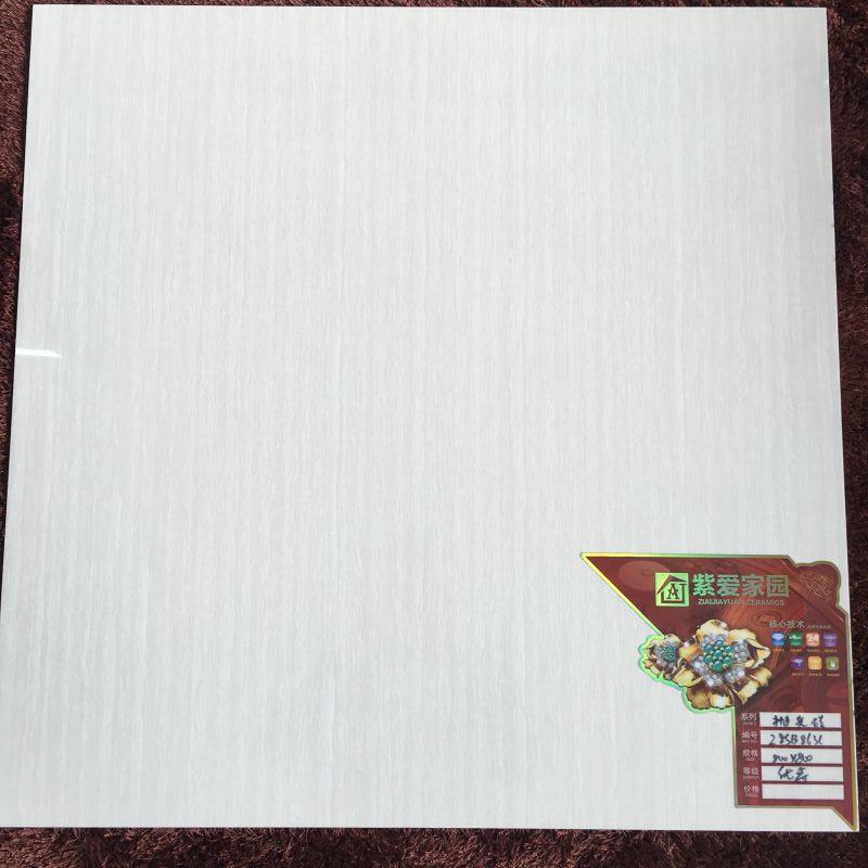 800*800 抛光砖白色木纹 带能*底标 仓库现货1900箱 工程特惠价 价格有惊喜!!