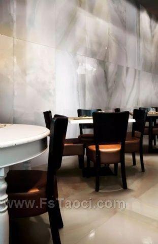 木纹砖、大理石瓷砖和仿古砖,高端商业空间最爱用这3类瓷砖!