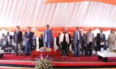 """""""万达工业集团""""独资投建赞比亚""""马可波罗瓷砖厂"""""""