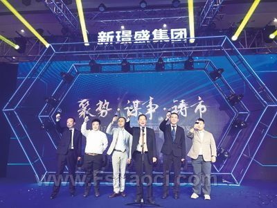 新明珠控股、新锦成参股的新�Z盛集团正式成立