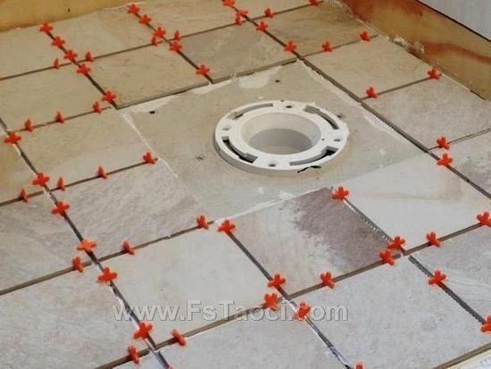 瓷砖定位器让铺地砖变得so easy