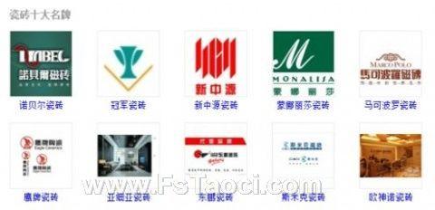 中国瓷砖十大名牌的历史
