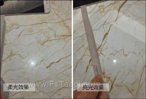 [柔光砖]什么是柔光大理石瓷砖?柔光与抛釉有啥不同?