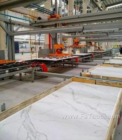 陶瓷岩板产业集群正快速形成,正悄然之间改变着中国建陶业的产业格局