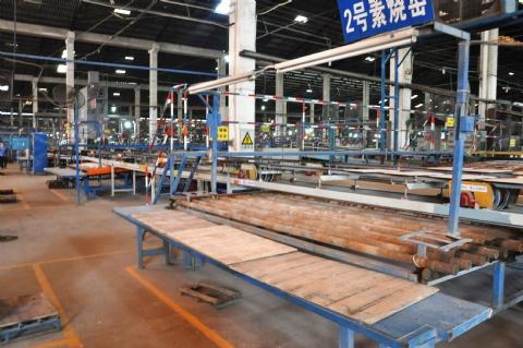陶瓷生产压机至窑炉出现缺陷的预防处理
