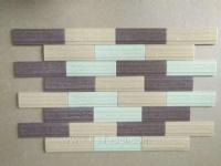 优等品45*145三色通体外墙砖,