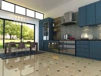 厨房选砖:墙砖要光滑地砖要防滑耐磨损抗腐蚀防潮防水