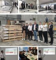 意大利瓷砖品牌诺宝瓷砖中国区的意大利之旅暨半年度工作汇报