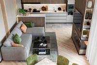 大理石瓷砖| 直纹大板大理石瓷砖让空间看起来更加舒适自然