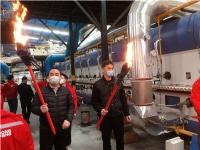 中窑股份与东鹏陶瓷集团三度合作,东鹏丰城基地内墙砖生产线顺利点火!