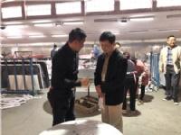 广东省陶瓷协会会长陈环到岩宝科技调研:要通过加工集群加速岩板材料流通