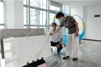 东鹏仿砂岩陶瓷和防滑原石两项技术通过科技成果鉴定