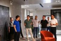 欧文莱瓷砖与山东泰鲁城投集团在欧文莱瓷砖总部结成紧密携手关系