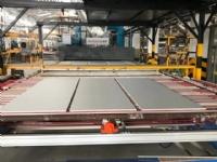 清远升华建陶摩德娜承建一期岩板生产线成功投产