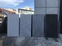 18厚600*1200数码石纹壁画石英砖 售楼部园林工程外墙干挂 高档小区幕墙灰色大理石纹仿石瓷砖
